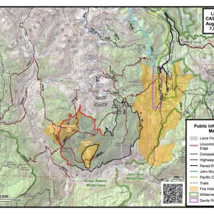 California Fire Map: List & Maps of Fires Near Me [August 6] | San on